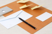 Business papery mockup — Stock Photo
