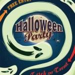 Vintage Halloween poster design — Stock Vector #52289421