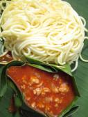 Tasty spaghetti — Stock Photo