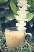 ледяной кофе — Стоковое фото