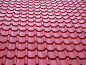 Telhado de telhas — Foto Stock
