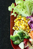 Close up van salade — Stockfoto