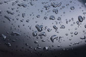 Water drop on glass  — Stock Photo