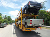 Truck in highway  — Stock Photo