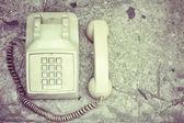 Vintage telefoon — Stockfoto