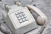 Ročník telefon — Stock fotografie