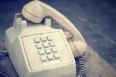 Telefono vintage — Foto Stock