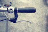 Vintage bicycle handlebar — Stock Photo