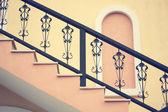 Vintage staircase — Stock Photo
