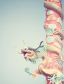 Drachen-statue — Stockfoto