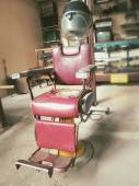 Barber chair  — Stock Photo