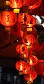 在春节期间的中国灯笼 — 图库照片