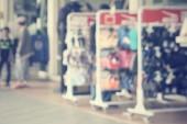 Verschwommen Shopping Mall — Stockfoto