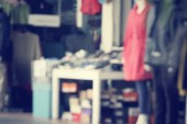 Blurred of shopping mall — Stock Photo