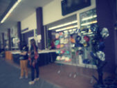Blurred of shopping mall — Stock fotografie