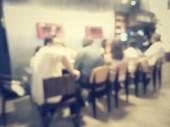 Rozmazané restaurace — Stock fotografie