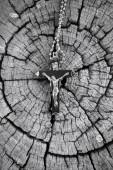 Naszyjnik z krzyża — Zdjęcie stockowe