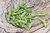 зеленый горох — Стоковое фото