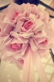 Vintage bouquet roses — Stock Photo