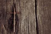 Jahrgang Kreuz — Stockfoto