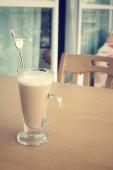 Kaffee Latte — Stockfoto