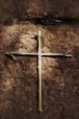 Старинный крест — Стоковое фото