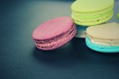 Macaroons colorful — Stock Photo