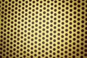 Steel gold background — Stock Photo
