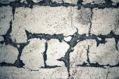 Cracks on the road — Stock Photo