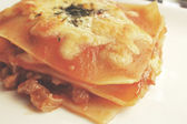 Italian lasagna — Stock Photo