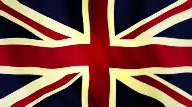 Flag brytyjskie — Wideo stockowe