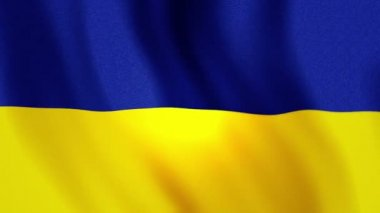 Full screen Ukraine flag FHD — Stock Video
