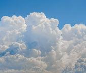 önce yağmur fırtına bulutları — Stok fotoğraf