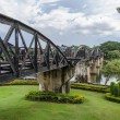 The Bridge Over the River Kwai in Kanchanaburi, Thailand — Stock Photo #55465925