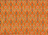 Tajski kwiecistymi tekstura — Zdjęcie stockowe