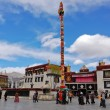 Jokhang temple in Lhasa, Tibet — Stock Photo #56795431