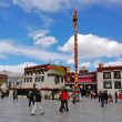 Jokhang temple in Lhasa, Tibet — Stock Photo #58649113