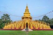 Pięćset złotych pagody w Saraburi, Tajlandia — Zdjęcie stockowe
