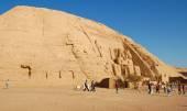 Templo de abu simbel, egipto — Foto de Stock