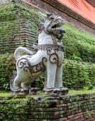 Thai Singha (lion) guardian — Stock Photo