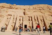 Nefertari's temple, Egypt — Stock Photo
