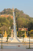 Buddhist temple in Uthai Thani, Thailand — Foto Stock