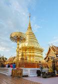 Tempio di Doi Suthep, pietra miliare di Chiang Mai, Thailandia — Foto Stock