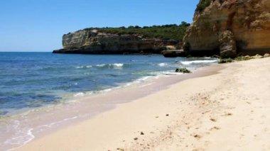 Algarve beach — Stock Video