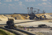 Open pit Welzow  — Stock Photo