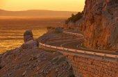 Coast road croatia  — Stock Photo