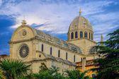Sibenik Cathedral  — Zdjęcie stockowe