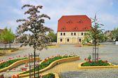 Grossraeschen plaza — Foto de Stock