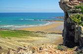 Costa Vasca near Zumaia  — Stock Photo