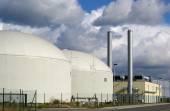Biogas power plant — Stock Photo